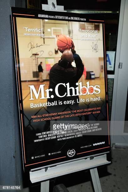 General atmosphere at the MR CHIBBS Opening Night screening at the IFC Center on May 3 2017 in New York City