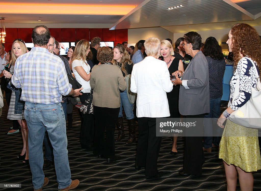 General atmosphere at The Paw Project Premiere on April 29, 2013 in West Hollywood, California.