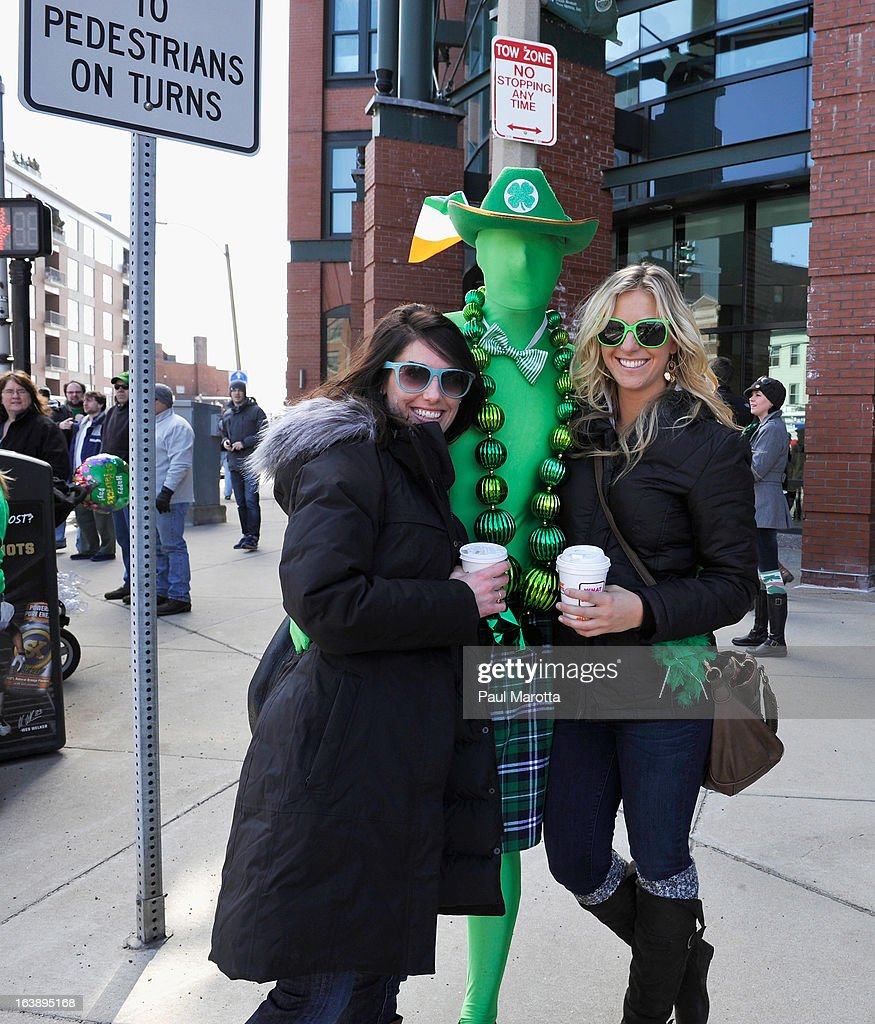 General atmosphere at the South Boston 2013 St. Patrick's Day Parade on March 17, 2013 in South Boston, Massachusetts.