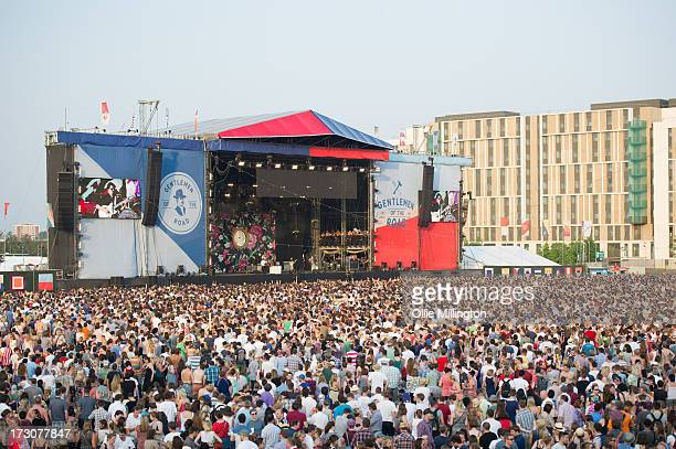 General Atmosphere at The Summer Stampede at Olympic Park on July 6 2013 in London England