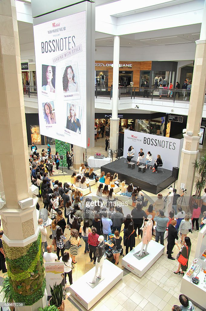 General atmosphere at the Westfield x Who What Wear Presents: Boss Notes at Westfield Valley Fair event at Westfield Topanga on April 30, 2016 in Woodland Hills, California.