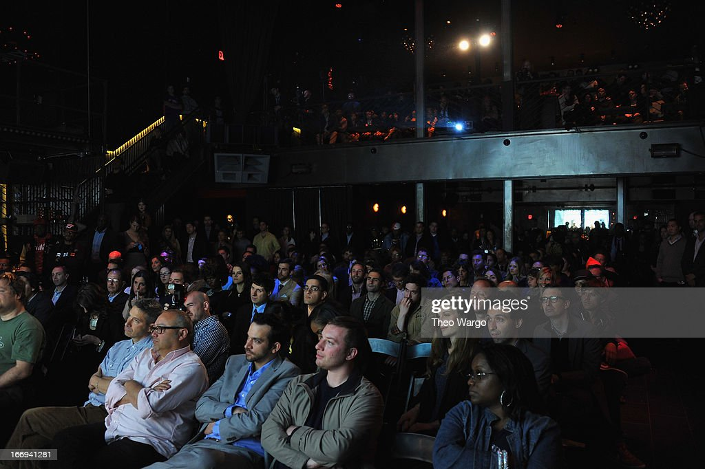 General atmosphere during EPIX premiere of Amar'e Stoudemire IN THE MOMENT on April 18, 2013 in New York City.
