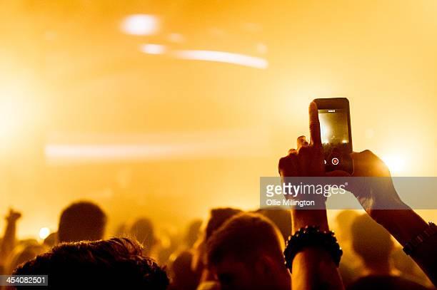 General atmosphere during Paul Van Dyke performormance at Leeds O2 Academy on December 6 2013 in Leeds United Kingdom