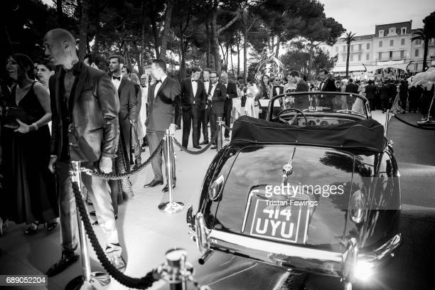 General atmosphere during the amfAR Gala Cannes 2017 at Hotel du CapEdenRoc on May 25 2017 in Cap d'Antibes France