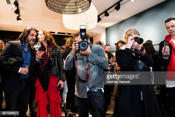 General atmosphere during the BaSh store opening on March 23 2017 in Berlin Germany