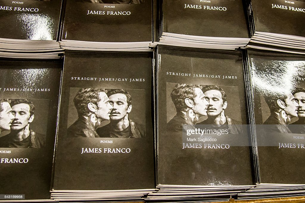 General atmosphere during the <a gi-track='captionPersonalityLinkClicked' href=/galleries/search?phrase=James+Franco&family=editorial&specificpeople=577480 ng-click='$event.stopPropagation()'>James Franco</a> promotion of his new Chapbook 'Straight James/Gay James' at the Strand Bookstore on June 26, 2016 in New York City.