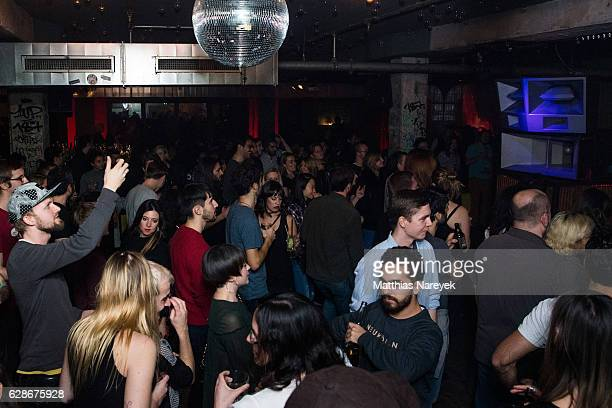General atmosphere during the Soundcloud Go Launch party at Prince Charles on December 8 2016 in Berlin Germany
