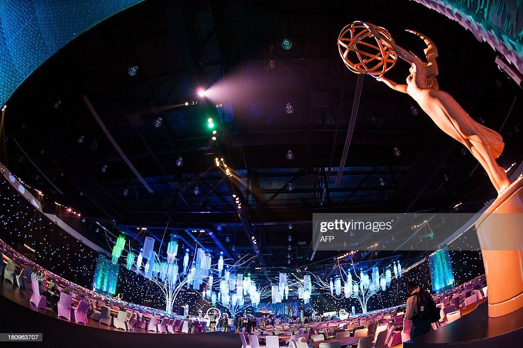 General atmosphere inside of the Governor Ball during the 65th EMMY Awards Press Preview Day on September 18, 2013 in Los Angeles, California.