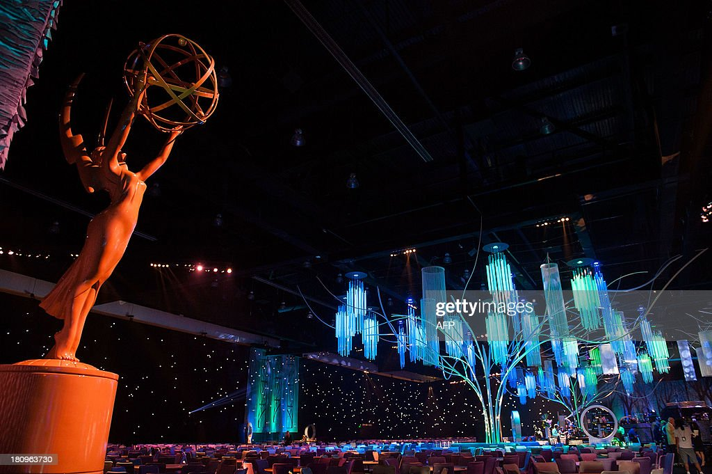 General atmosphere inside of the Governor Ball during the 65th EMMY Awards Press Preview Day on September 18, 2013 in Los Angeles, California. The awards will be held on September 22, 2013.