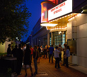 General atmosphere is displayed at the 'The Equalizer' screening sponsored by Hennessy VS at the Sony Pictures Studios Backstage Theater on September...