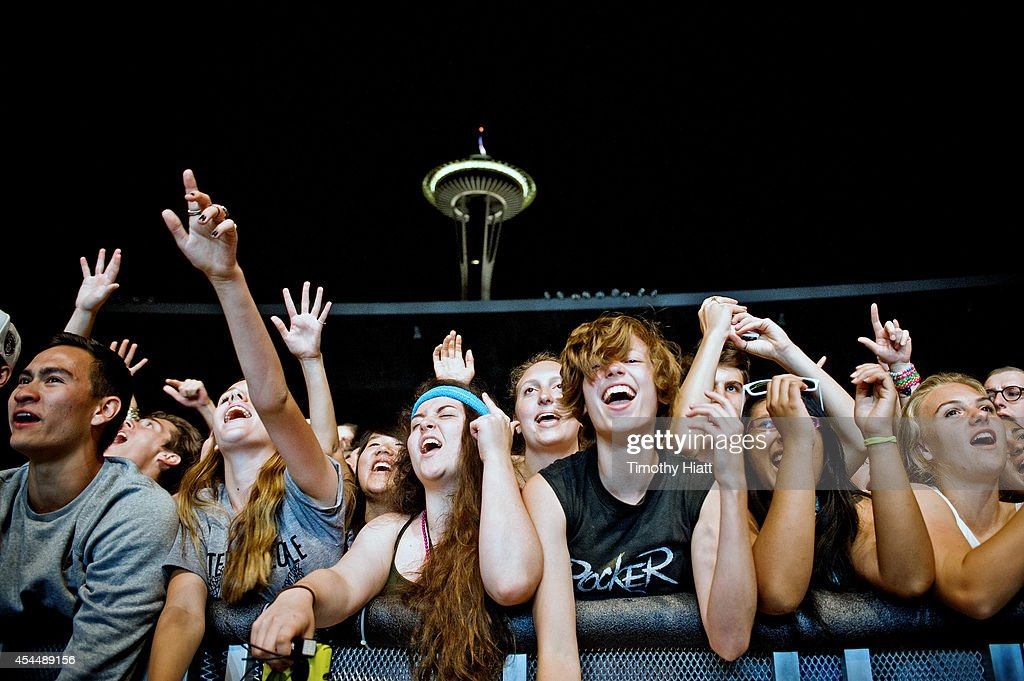 General Atmosphere of day three of the Bumbershoot Music and Arts Festival on September 1, 2014 in Seattle, Washington.