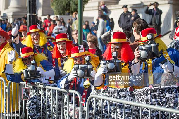 General atmosphere of the 89th Annual Macy's Thanksgiving Day Parade on November 26 2015 in New York City