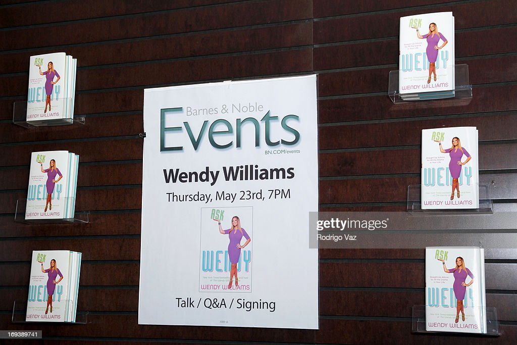 General atmosphere of Wendy Williams book signing for 'Ask Wendy' at Barnes & Noble bookstore at The Grove on May 23, 2013 in Los Angeles, California.