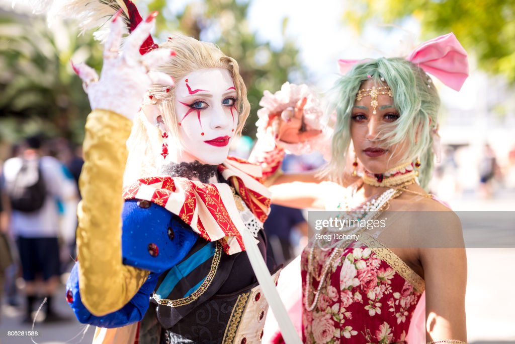 General atmosphere shots at Anime Expo 2017 at Los Angeles Convention Center on July 2, 2017 in Los Angeles, California.