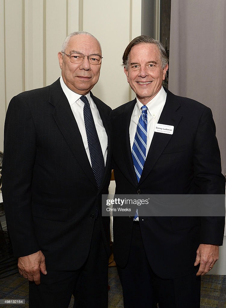 General <a gi-track='captionPersonalityLinkClicked' href=/galleries/search?phrase=Colin+Powell&family=editorial&specificpeople=118599 ng-click='$event.stopPropagation()'>Colin Powell</a> (Ret.) and Concordance Academy of Leadership President and CEO Danny Ludeman attend The Concordance Academy Of Leadership Gateway Gala with keynote speaker General <a gi-track='captionPersonalityLinkClicked' href=/galleries/search?phrase=Colin+Powell&family=editorial&specificpeople=118599 ng-click='$event.stopPropagation()'>Colin Powell</a> at The Ritz-Carlton, St. Louis on November 20, 2015 in St Louis, Missouri.