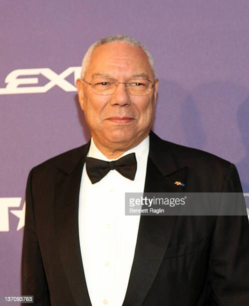 General Colin Powell former US Secretary of State attends BET Honors 2012 at the Warner Theatre on January 14 2012 in Washington DC