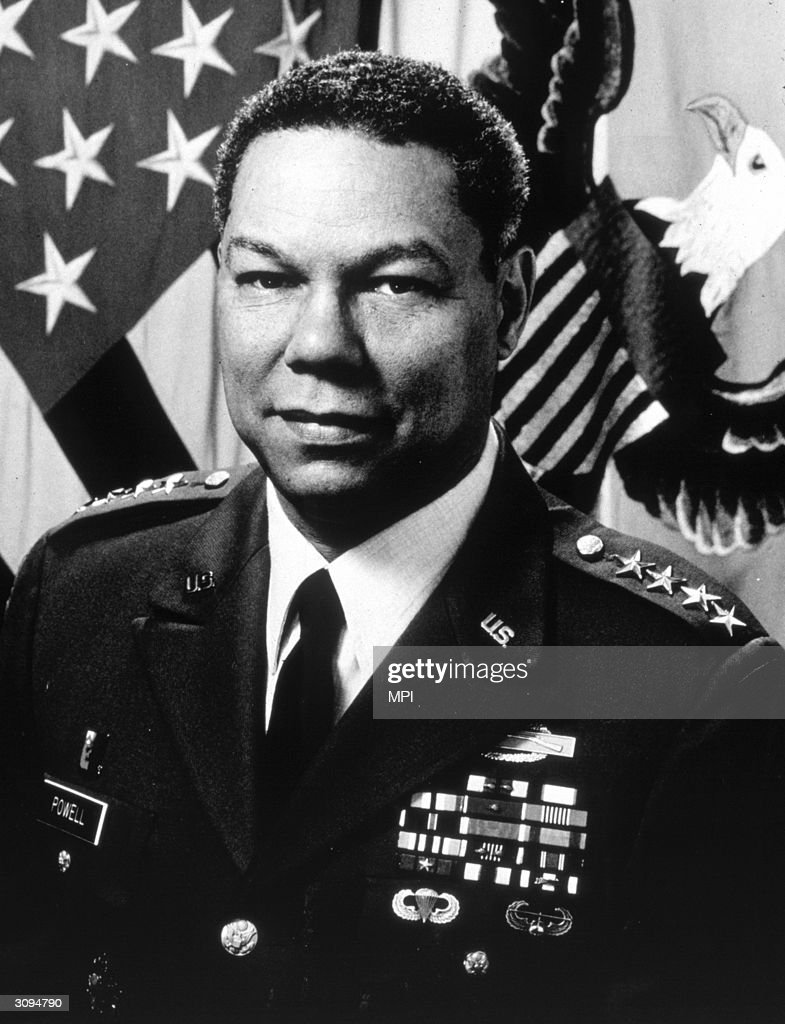 a biography of colin powell an american general Colin luther powell ( born april 5, 1937) is an american statesman and a retired four-star general in the united states armypreferred pronunciation rhymes with.