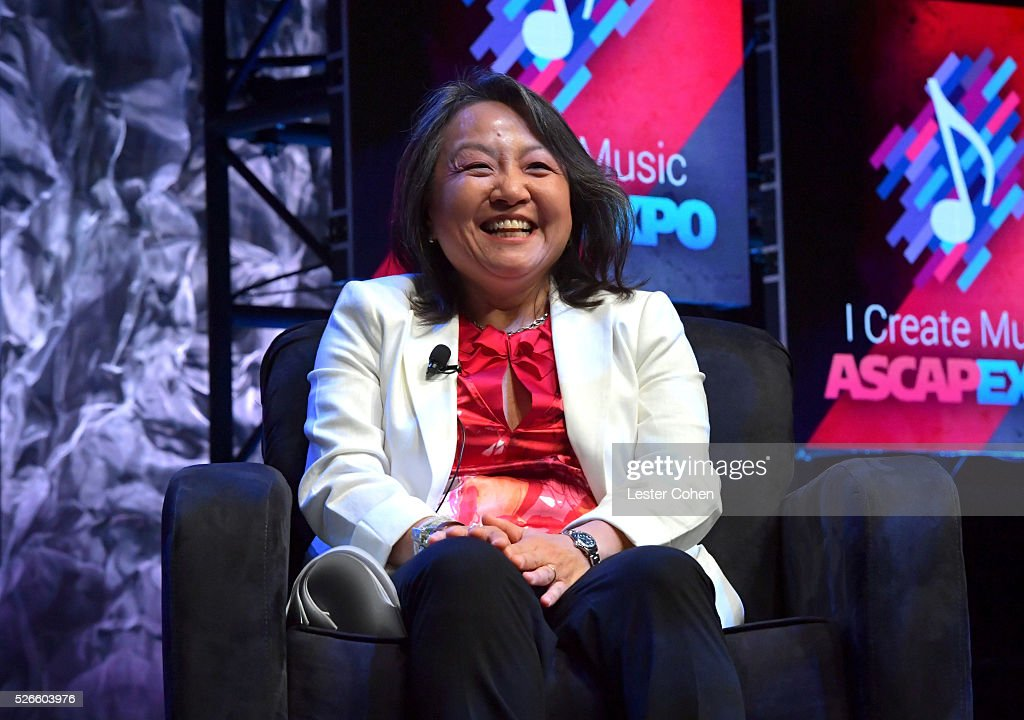 EVP & General Counsel, Business and Legal Affairs, Clara Kim speaks onstage during the 'Your Music, Your Rights' panel, part of the 2016 ASCAP 'I Create Music' EXPO on April 30, 2016 in Los Angeles, California.