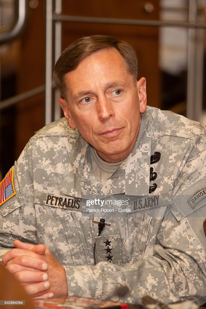 General David Howell Petraeus the 10th and current Commander of the US Central Command during a meeting On October 31 Petraeus assumed command of the...