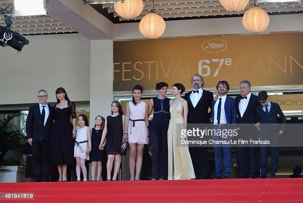 General Delegate of the Cannes Film Festival Thierry Fremaux actress Monica Bellucci Eva Morrow MariaStella Morrow Agnese Graziani Maria Alexandra...