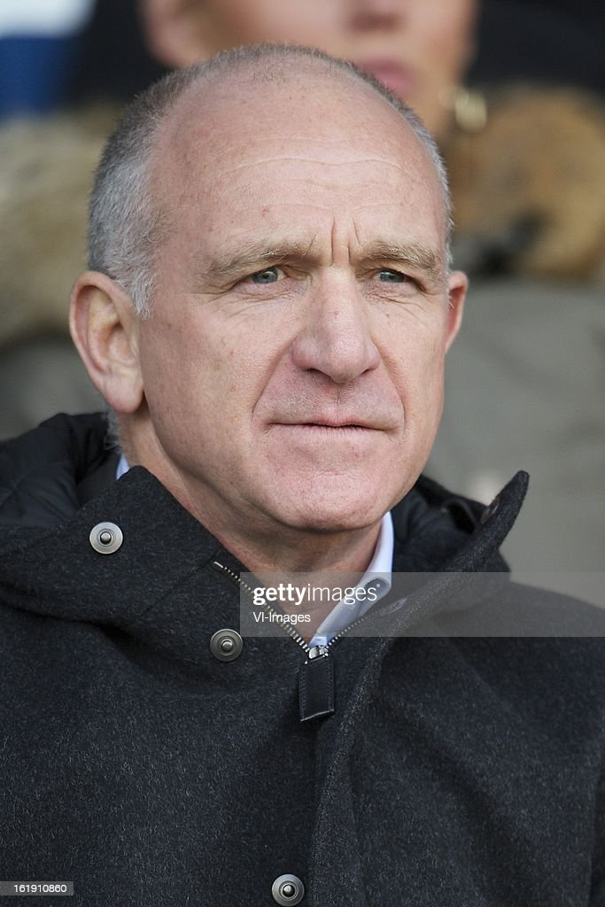 general director Michael Kinsbergen of Ajax during the Dutch Eredivisie match between RKC Waalwijk and Ajax Amsterdam at the Mandemakers Stadium on february 17, 2013 in Waalwijk, The Netherlands