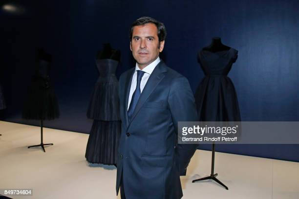 General Director of Galeries Lafayette Nicolas Houze attends Christian Dior celebrates 70 Years of Creation at the Galeries Lafayette Haussmann on...