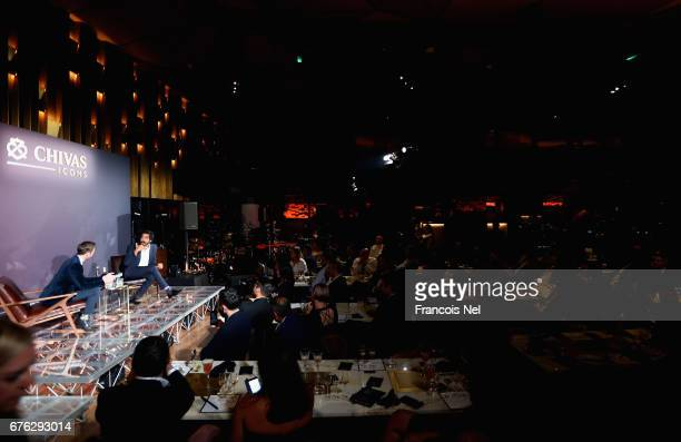 A general during Chivas Icons presents Dev Patel at The H Hotel on May 2 2017 in Dubai United Arab Emirates Actor Dev Patel is in Dubai for the...