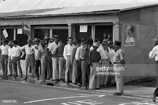 General Elections In Reunion Island En mai 1963 dans le cadre des élections législatives les habitants de l'ile de la Réunion votent pour élire leur...