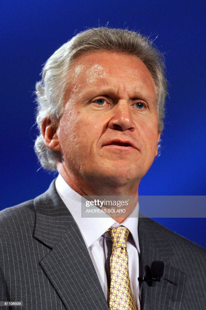 General Electric Chairman and Chief Executive Officer Jeffrey R Immelt speaks 14 November 2007 during the 20th World Energy Congress in Rome General...