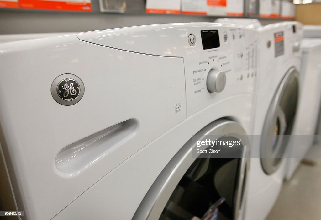 ge clothes washers and dryers are offered for sale at