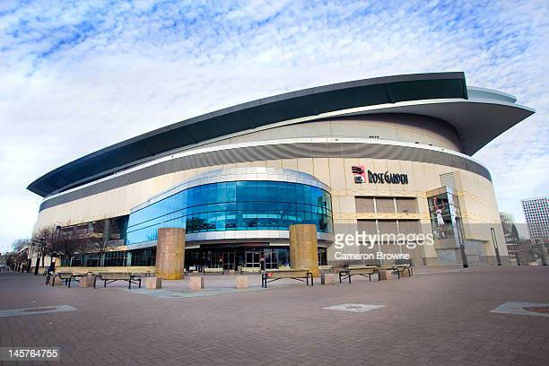 A general exterior view of the Rose Garden during a game on January 24 2009 at the Rose Garden Arena in Portland Oregon NOTE TO USER User expressly...