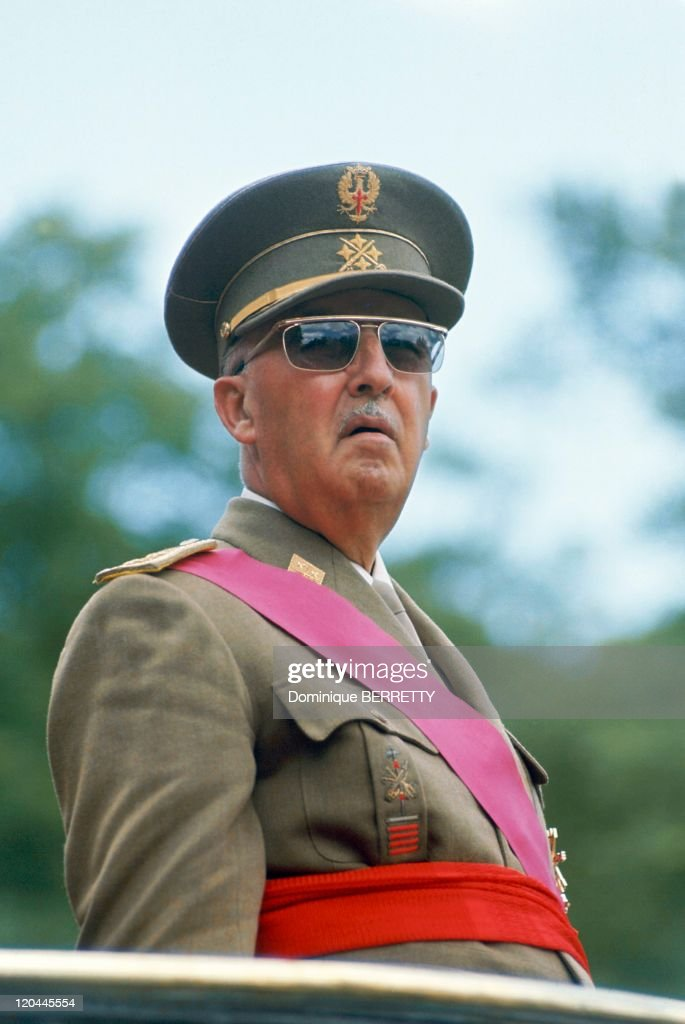 General <a gi-track='captionPersonalityLinkClicked' href=/galleries/search?phrase=Francisco+Franco&family=editorial&specificpeople=190209 ng-click='$event.stopPropagation()'>Francisco Franco</a> Bahamonde in 1967.