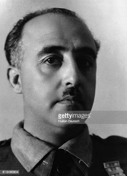 General Francisco Franco who became leader of Spain's Nationalist forces in 1936 and defeated the Republican government after three years of civil...