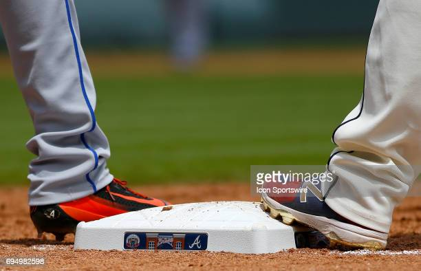 General game images during the MLB game between the Atlanta Braves and the New York Mets on Sunday June 11 2017 at SunTrust Park in Atlanta GA