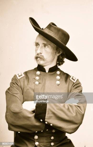 General George Armstrong Custer graduated last in his class at West Point' without his Cavalry Charge in Defense of the Gettysburg rear in a Cavalry...
