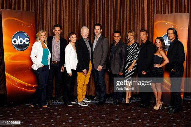 TOUR 'General Hospital' Session Laura Wright Jason Thompson Jane Elliott Tony Geary Frank Valentini Maurice Benard Nancy Lee Grahn Steven Burton...