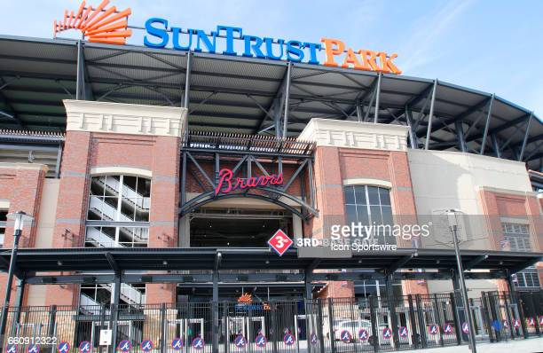 General images of the new SunTrust Park that is the new home of The Atlanta Braves on March 29 at SunTrust Park in Atlanta GA