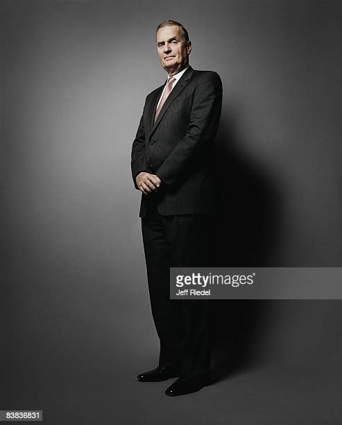 General Jim Jones poses at a portrait session in Washington DC