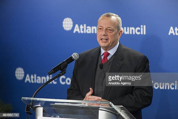 General John Allen Special Presidential Envoy for the Global Coalition to Counter ISIL speaks at the Atlantic Council about the future of the fight...