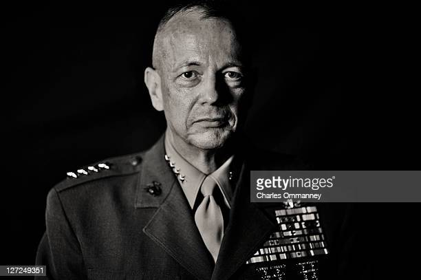 General John Allen who became commander of US forces in Afghanistan on July 18 is photographed for Newsweek on July 15 in Kabul Afghanistan