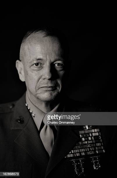 General John Allen who became commander of US forces in Afghanistan on July 18 is photographed for Newsweek on July 17 in Kabul Afghanistan
