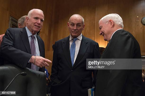 Image result for PHOTOS OF MCCAIN AND GENERAL KELLY