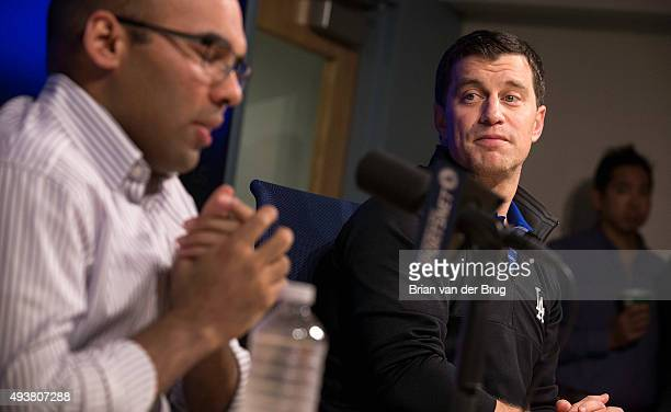 General manager Farhan Zaidi and Dodgers president of baseball operations Andrew Friedman explain the conversations involved in the mutual agreement...