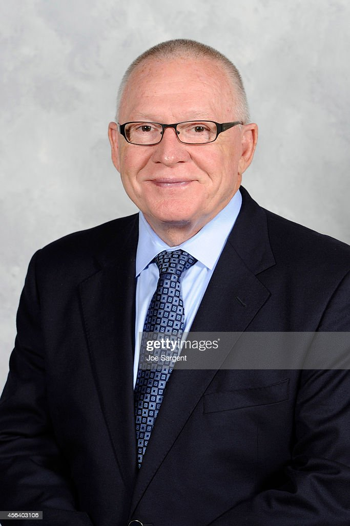 General Manager <a gi-track='captionPersonalityLinkClicked' href=/galleries/search?phrase=Jim+Rutherford&family=editorial&specificpeople=594541 ng-click='$event.stopPropagation()'>Jim Rutherford</a> of the Pittsburgh Penguins poses for his official headshot for the 2014-2015 season on September 18, 2014 at the Consol Energy Center in Pittsburgh, Pennsylvania.