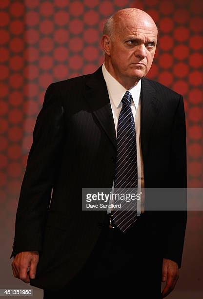 General manager Lou Lamoriello of the New Jersey Devils attends the 2014 NHL Entry Draft at Wells Fargo Center on June 27 2014 in Philadelphia...