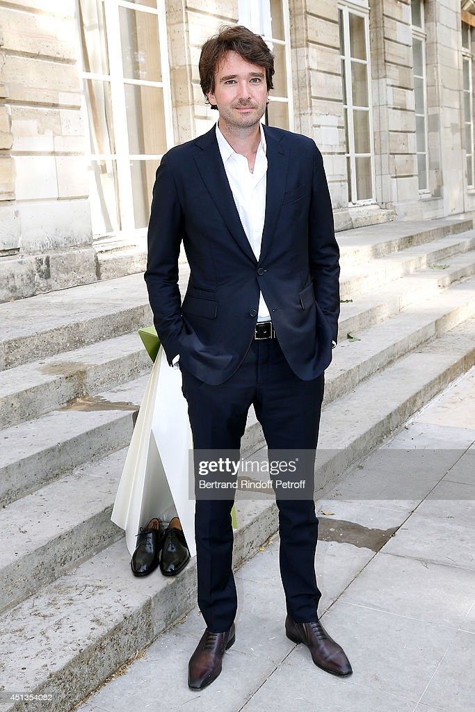 General manager of Berluti <a gi-track='captionPersonalityLinkClicked' href=/galleries/search?phrase=Antoine+Arnault&family=editorial&specificpeople=676045 ng-click='$event.stopPropagation()'>Antoine Arnault</a> attends the Berluti show as part of the Paris Fashion Week Menswear Spring/Summer 2015. Held at 'Ecole des Mines' on June 27, 2014 in Paris, France.