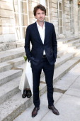 General manager of Berluti Antoine Arnault attends the Berluti show as part of the Paris Fashion Week Menswear Spring/Summer 2015 Held at 'Ecole des...