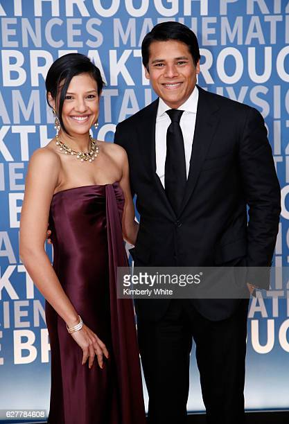 General Manager of Method Products Megha Tolia and Nextdoor CoFounder and CEO Nirav Tolia attend the 2017 Breakthrough Prize at NASA Ames Research...