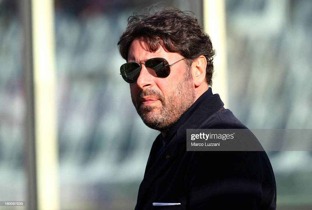 General Manager of Parma FC Pietro Leonardi looks on before the Serie A match between ACF Fiorentina and Parma FC at Stadio Artemio Franchi on February 3, 2013 in Florence, Italy.