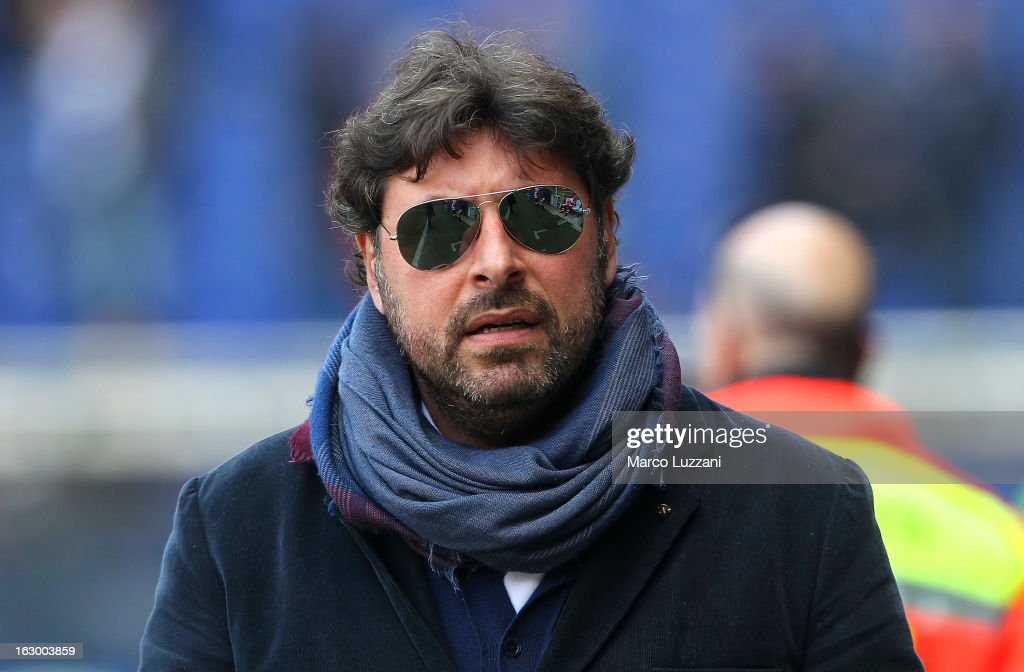 General Manager of Parma FC Pietro Leonardi looks on before the Serie A match between UC Sampdoria and Parma FC at Stadio Luigi Ferraris on March 3, 2013 in Genoa, Italy.
